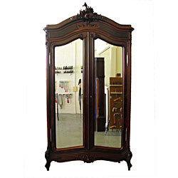 French Rosewood Armoire